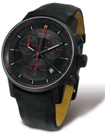 Men's Vostok Europe 6S30-5654176 Gaz-14 Limousine Grand Chrono watch