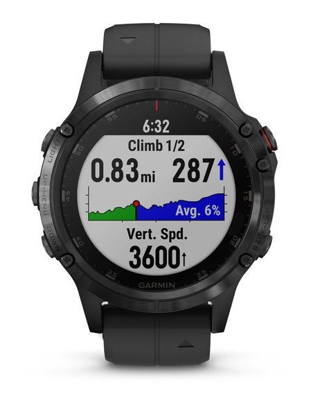 Garmin Fēnix® 5S Plus Black with Black Band 010-01988-01 smartwatch Garmin - 3