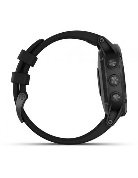 Garmin Fēnix® 5S Plus Black with Black Band 010-01988-01 smartwatch Garmin - 5