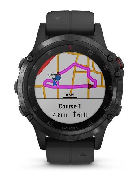 Garmin Fēnix® 5S Plus Black with Black Band 010-01988-01 smartwatch Garmin - 7