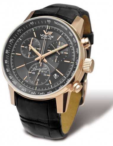 Vostok Europe 6S30-5659175 Gaz-14 Limousine Grand Chrono watch 428.338625 - 1