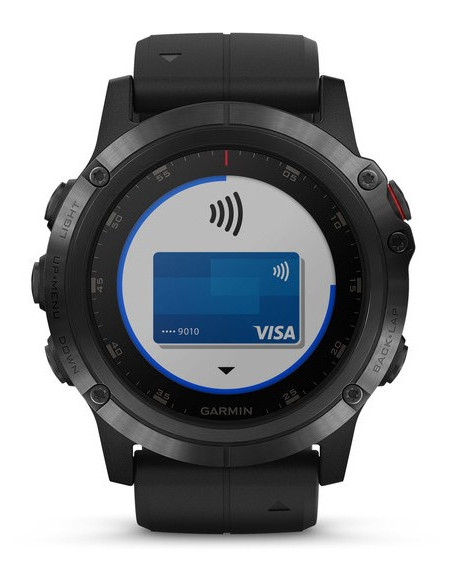Garmin Fēnix® 5X Plus Sapphire black with Black Band 010-01989-01 smartwatch Garmin - 3