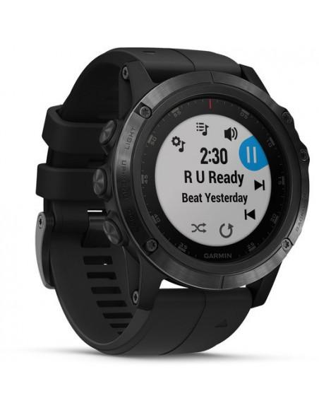 Garmin Fēnix® 5X Plus Sapphire black with Black Band 010-01989-01 smartwatch Garmin - 2