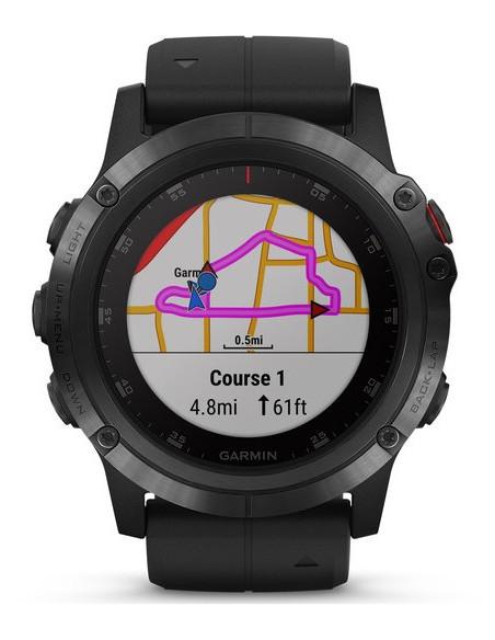 Garmin Fēnix® 5X Plus Sapphire black with Black Band 010-01989-01 smartwatch Garmin - 9