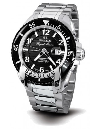 Men's SECULUS 3441.7.2824 M SS B Royal Marine Limited Edition watch