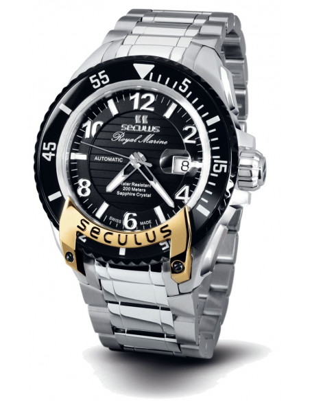 Men's SECULUS 3441.7.2824 M SSY B Royal Marine Limited Edition watch