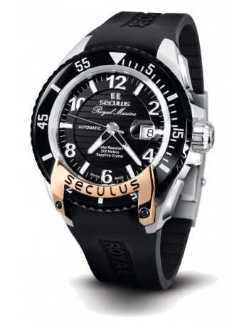 Men's SECULUS 3441.7.2824 Sil SSR B Royal Marine Limited Edition watch