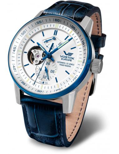 Vostok Europe YN84-565E552 Gaz-14 Automatyczny zegarek z otwartym saldem 578.107375 - 1