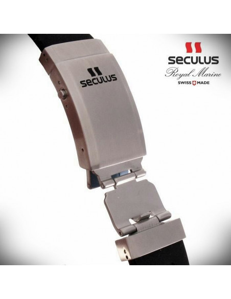 Men's SECULUS 3441.7.2824 Sil SSY B Royal Marine Limited Edition watch