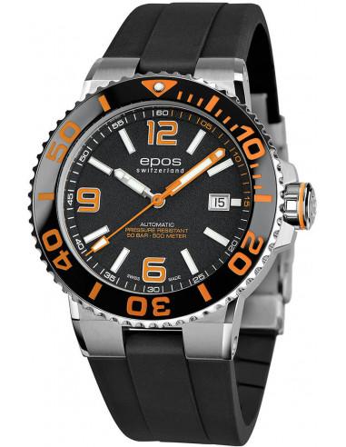 Zegarek automatyczny Epos Sportive Diver 3441.131.99.52.55 1188.165417 - 1