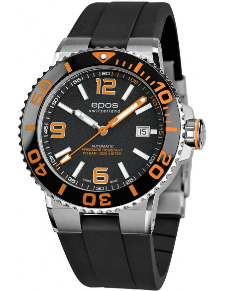 Epos Sportive Diver 3441.131.99.52.55 automatic watch - 1