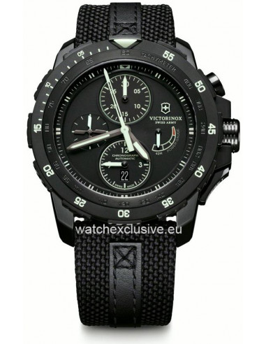 VICTORINOX Swiss Army Alpnach 241574 Mechanical Chronograph Special LIMITED Edition Watch