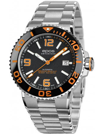 Epos Sportive Diver 3441.131.99.52.30 automatic watch - 1