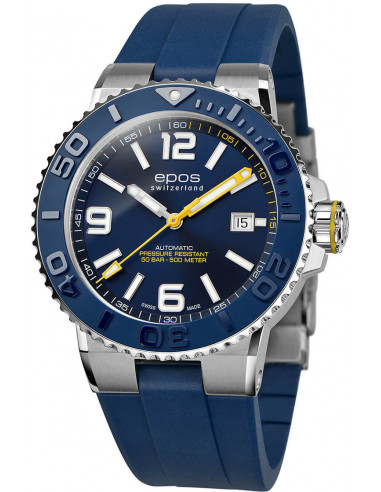 Epos Sportive Diver 3441.131.96.56.56 automatic watch - 2