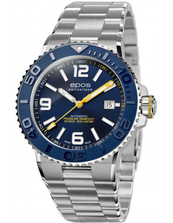 Epos Sportive Diver 3441.131.96.56.30 automatic watch - 2