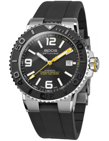 Zegarek automatyczny Epos Sportive Diver 3441.131.20.55.55 1188.165417 - 1
