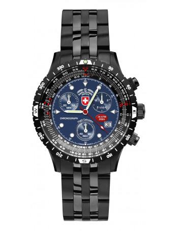 CX Swiss Military Airforce I EVO 2472 pilot chronograph watch