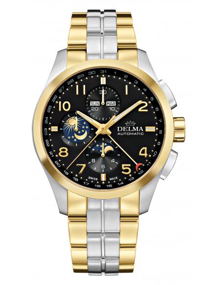 Delma Klondike 52701.680.6.032 automatic moonphase watch 3744.21875 - 1