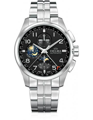 Delma Klondike 41701.680.6.032 automatic moonphase watch Delma - 1