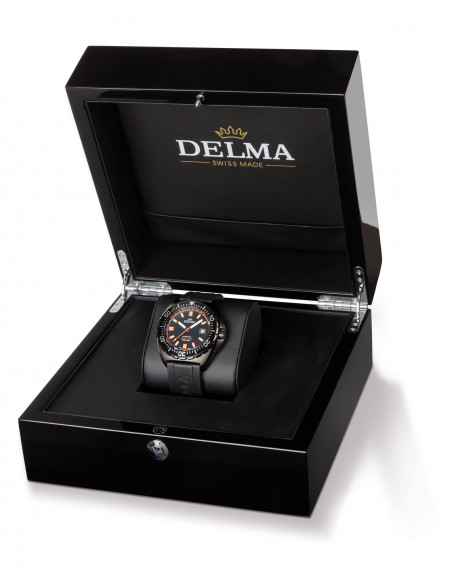 Delma Shell Star Black Tag 44501.670.6.031 automatic diving watch 1288.01125 - 3