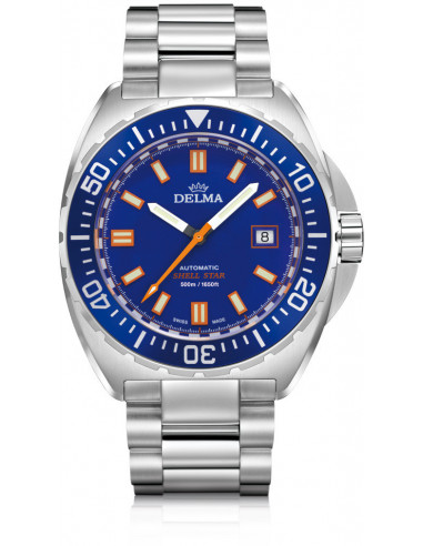 Delma Shell Star automatic 41701.670.6.041 diving watch 1088.319583 - 1