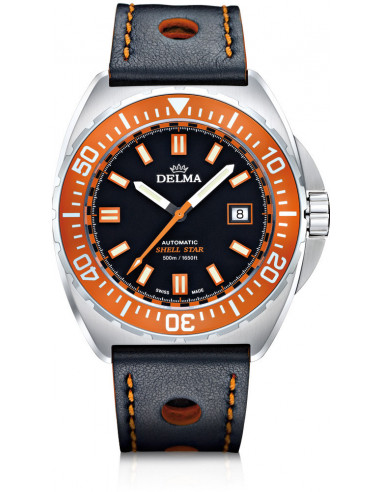 Delma Shell Star automatic 41601.670.6.151 diving watch 988.47375 - 1