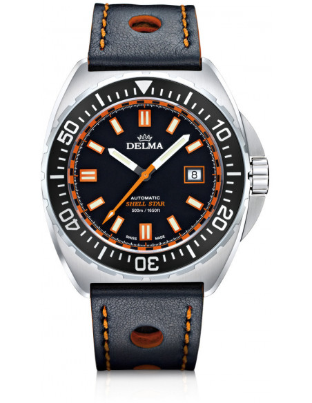 Delma Shell Star automatic 41601.670.6.031 diving watch 988.47375 - 1