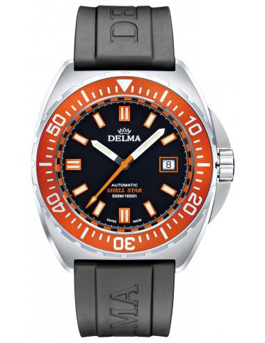 Automatyczny zegarek nurkowy Delma Shell Star 41501.670.6.151 1048.38125 - 1