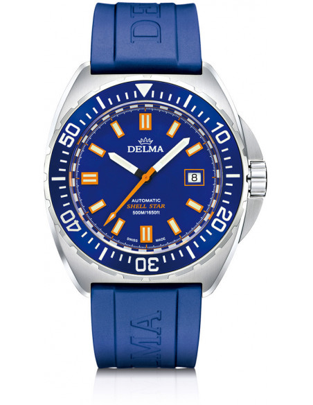 Delma Shell Star automatic 41501.670.6.041 diving watch 1048.38125 - 1