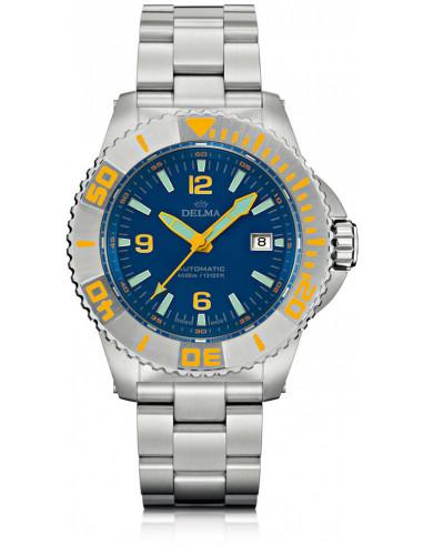 Zegarek nurkowy Delma Blue Shark III 41701.700.6.044 1986.932083 - 1