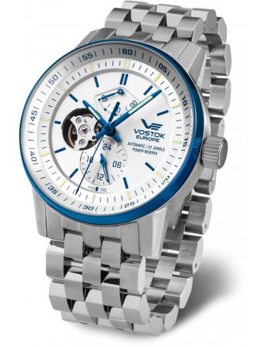 Vostok Europe YN84-565E552B Gaz-14 Automatyczny zegarek z otwartym saldem 618.045708 - 1