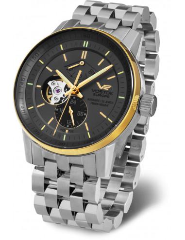 Vostok Europe YN84-565E551B Gaz-14 Automatyczny zegarek z otwartym saldem 618.045708 - 1
