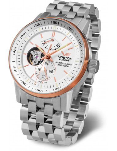 Vostok Europe YN84-565E550B Gaz-14 Open balance automatic watch Vostok Europe - 1