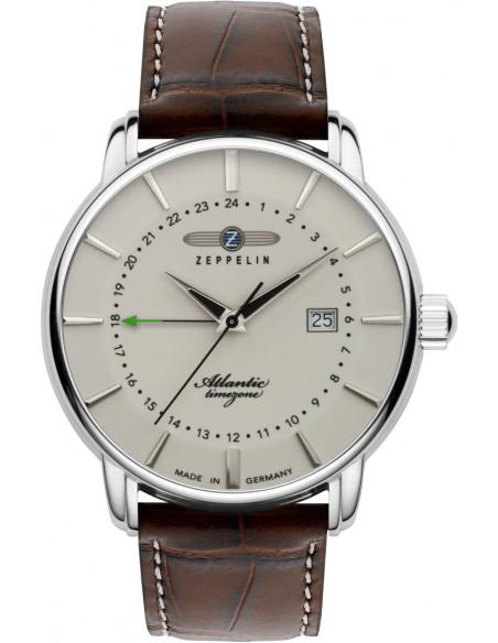 Zeppelin 8442-5 Atlantic GMT watch 221.787549 - 1