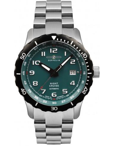 Automatyczny zegarek Zeppelin 7264M-3 Nightcruise 386.433329 - 1