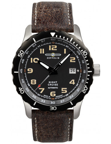 Zeppelin 7264-5 Nightcruise automatic watch 367.063237 - 1