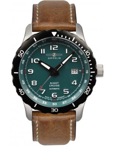 Zeppelin 7264-3 Automatyczny zegarek Nightcruise 367.063237 - 1