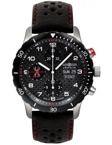 Zeppelin 7216-2 Automatyczny zegarek chronografu Nightcruise 1548.638829 - 1