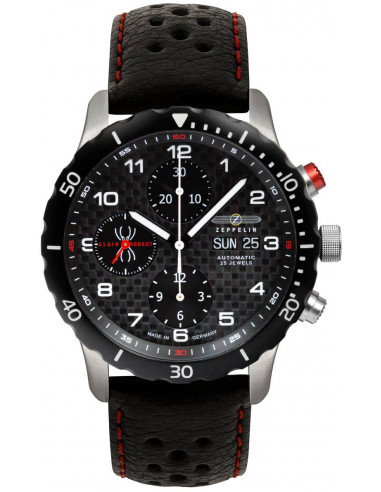 Zeppelin 7216-2 Nightcruise automatic chronograph watch 1548.638829 - 1