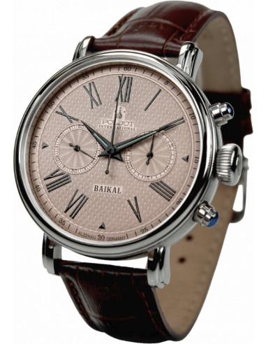 Zegarek chronografu Poljot International Wonder Bajkal 2901.1940912 797.768208 - 1