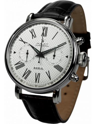 Zegarek chronografu Poljot International Wonder Bajkal 2901.1940911 797.768208 - 1