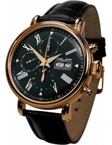 Zegarek chronografu Poljot International Wonder Bajkal 7750.1740613 1782.248125 - 1