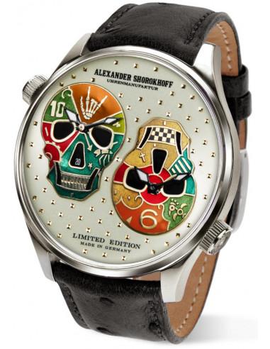Zegarek automatyczny Alexander Shorokhoff Los Craneos AS.DT02-2 3293.914042 - 1