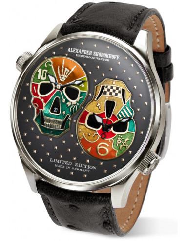 Alexander Shorokhoff Los Craneos AS.DT02-3 automatic watch 3293.914042 - 2
