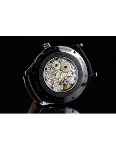 Alexander Shorokhoff Lucky 8-2 AS.V3.02-R mechanical watch Alexander Shorokhoff - 3