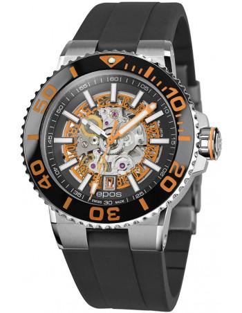 Epos Sportive Diver 3441.135.99.15.55 automatic skeleton watch Epos - 1
