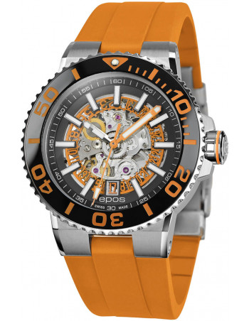 Epos Sportive Diver 3441.135.99.15.52 automatic skeleton watch Epos - 1