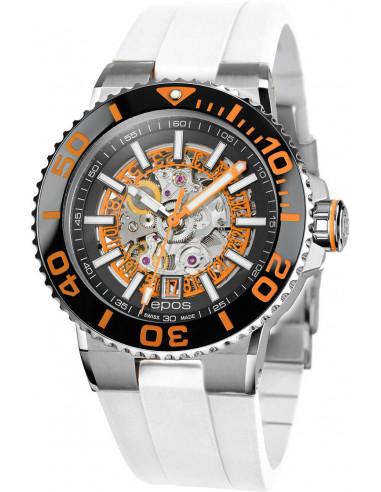 Epos Sportive Diver 3441.135.99.15.50 automatic skeleton watch 1646.457792 - 1