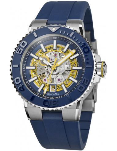 Epos Sportive Diver 3441.135.96.16.56 automatic skeleton watch Epos - 1