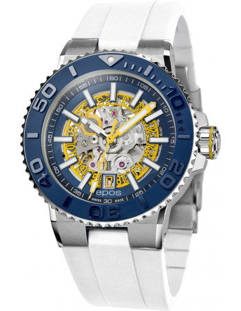 Epos Sportive Diver 3441.135.96.16.30 automatic skeleton watch Epos - 1